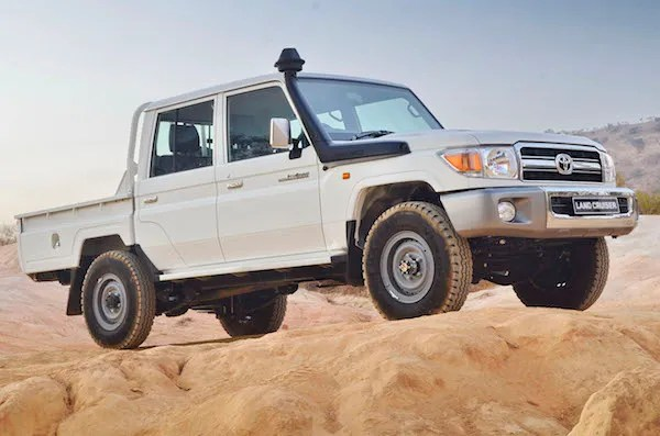 Toyota Land Cruiser Yemen April 2016