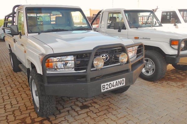 Toyota Land Cruiser PU Namibia 2015. Picture courtesy autoguide.co.bw