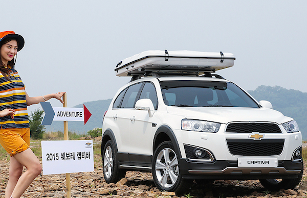 Chevrolet Captiva South Korea May 2015