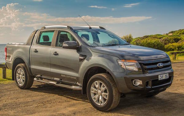 Ford Ranger New Zealand May 2015. Picture courtesy caradvice.com.au