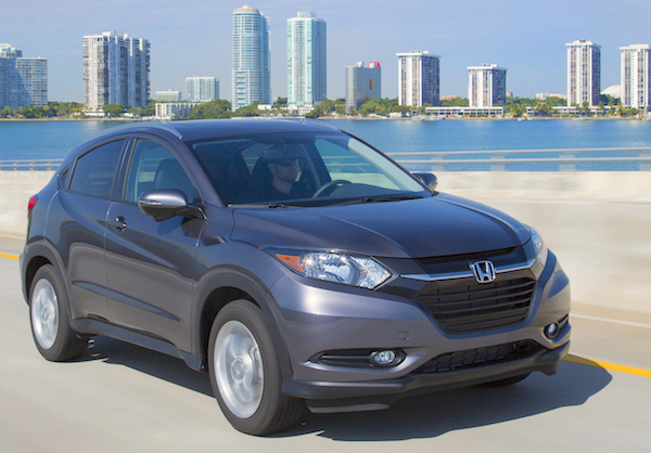 Honda HR-V USA May 2015. Picture courtesy motortrend.com