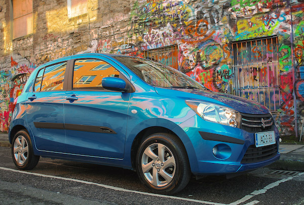 Suzuki Celerio Greece June 2015. Picture courtesy autoexpress.co.uk