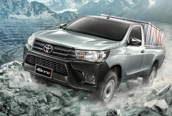 Toyota Hilux Revo Standard Cab Thailand May 2015
