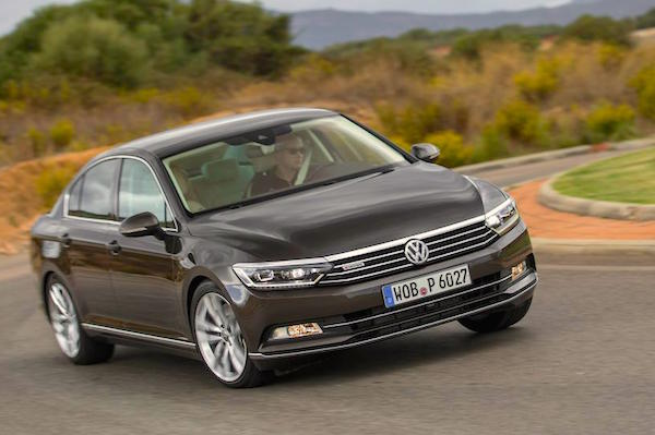 VW Passat Lithuania August 2015. Picture courtesy caranddriver.com