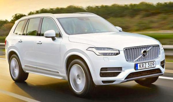 Volvo XC90 Sweden May 2015. Picture courtesy vibilagare.se