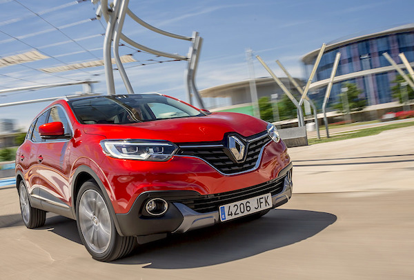 Renault Kadjar France December 2015. Picture courtesy largus.fr