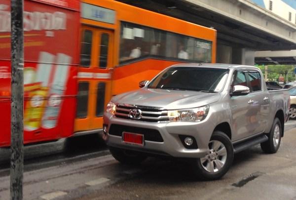 1. Toyota Hilux Bangkok July 2015