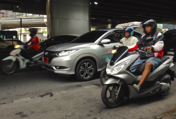 3. Honda HR-V Bangkok July 2015