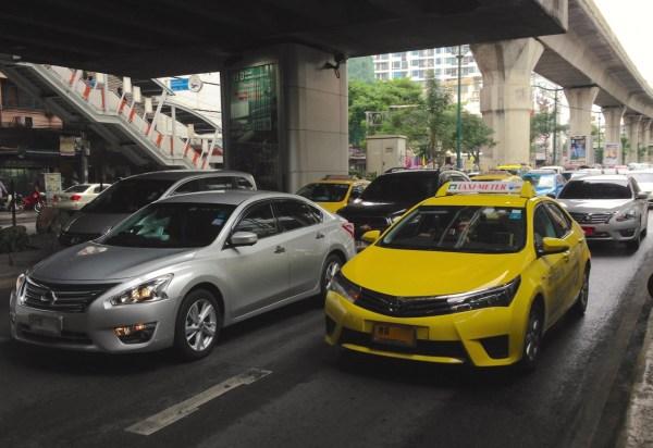 5. Toyota Corolla Taxi Bangkok July 2015