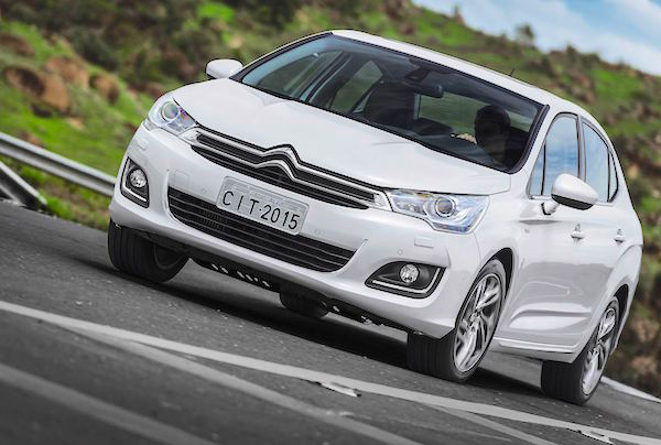Citroen C4 Lounge Argentina June 2015. Picture courtesy clicrbs.com.br