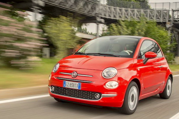 Fiat 500 Latvia June 2015. Picture courtesy largus.fr
