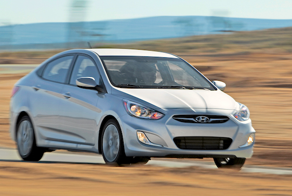 Hyundai Accent Saudi Arabia March 2015