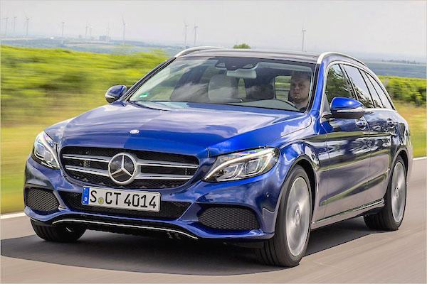 Mercedes C Class Europe 2015. Picture courtesy auto-news.de