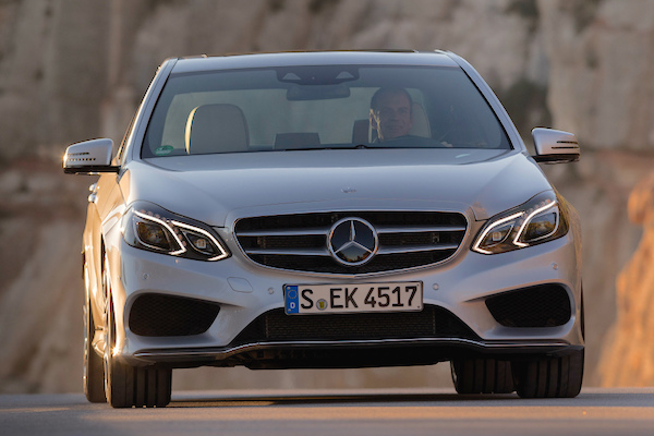 Mercedes E Class South Korea July 2015