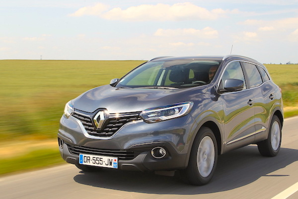 Renault Kadjar France September 2015. Picture courtesy largus.fr