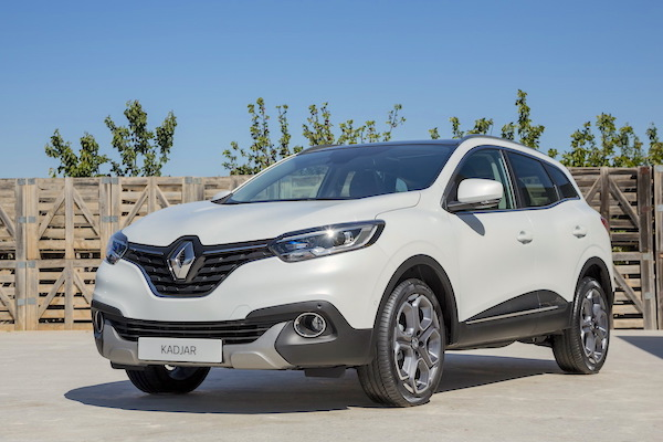 Renault Kadjar Turkey August 2015. Picture courtesy largus.fr