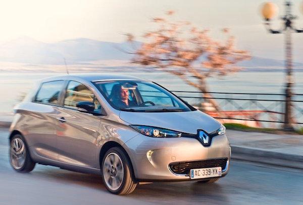 Renault Zoe Norway June 2015