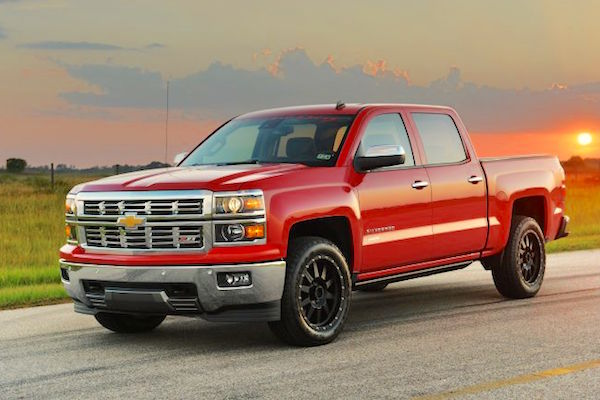 Chevrolet Silverado USA July 2015