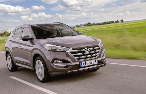 Hyundai Tucson Italy November 2016. Picture courtesy itempo.no
