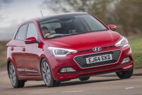 Hyundai i20 Ireland July 2015