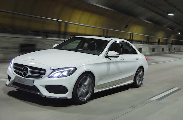 Mercedes C Class Brazil July 2015. Picture courtesy blogauto.com.br