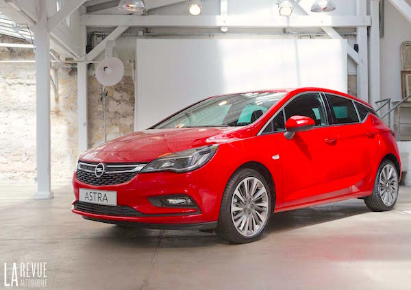 Opel Astra Bosnia June 2015. Picture courtesy larevueautomobile.com
