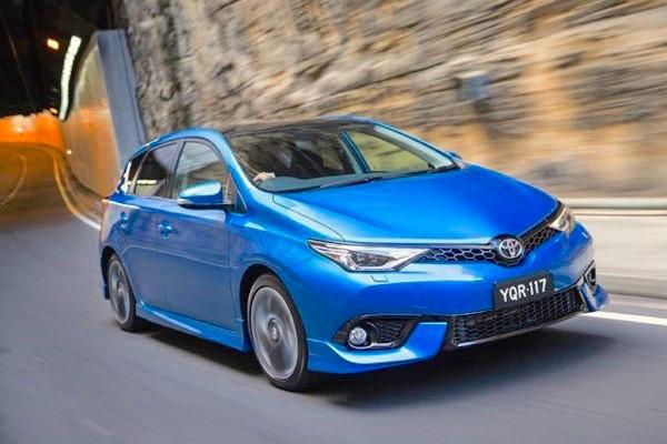 Toyota Corolla New Zealand 2015