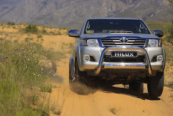 Toyota Hilux Lesotho 2015. Picture courtesy cars.co.za