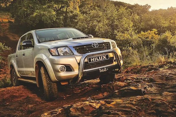 Toyota Hilux Uganda 2015. Picture courtesy sacarfan.co.za