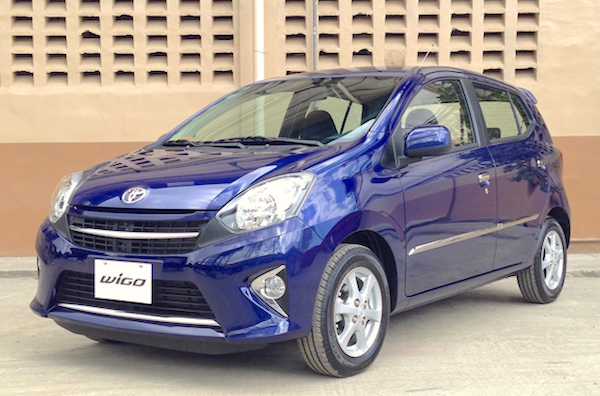 Toyota Wigo Philippines June 2015. Picture courtesy topgear.com.ph