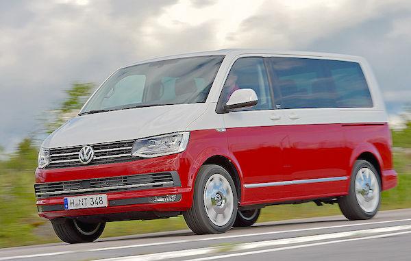 VW Bus T6 Austria July 2015. Picture courtesy autobild.de