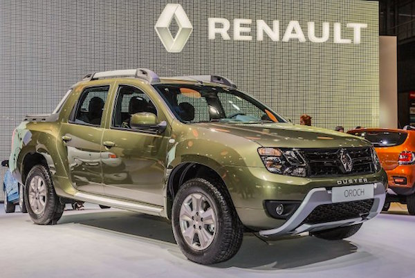 9. Dacia Duster Oroch France 2015