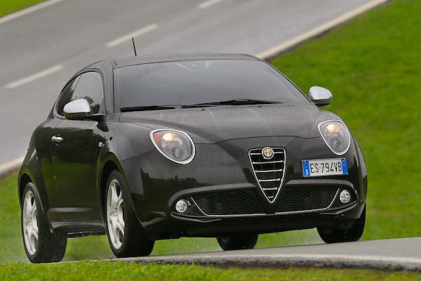 Alfa Romeo MiTo Italy July 2015