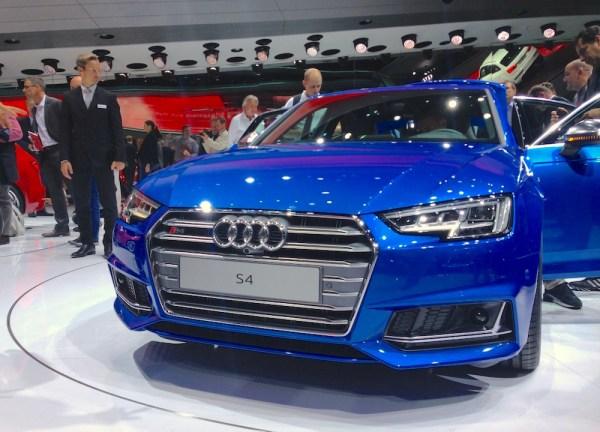 Audi S4 Frankfurt 2015