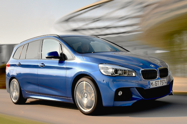 BMW 2 Series Gran Tourer Europe 2015