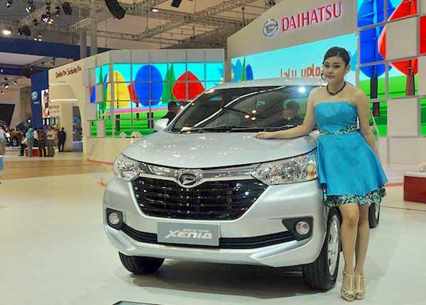 Daihatsu Great New Xenia Indonesia August 2015. Picture courtesy gaikindo.or.in