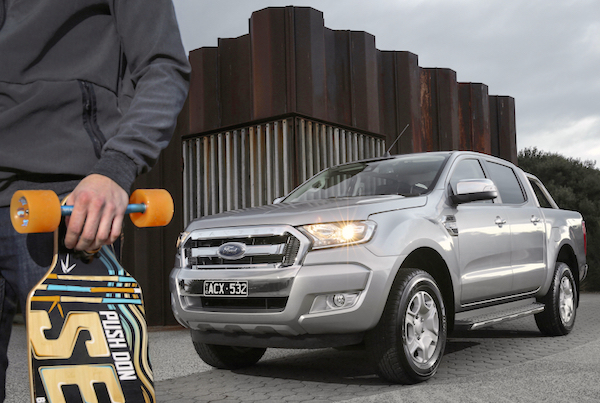 Ford Ranger Australia 2015