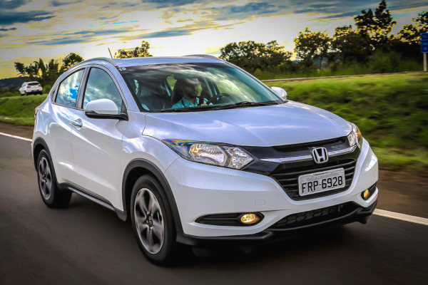 Honda HR-V Brazil March 2016. Picture courtesy carplace.uol.com.br