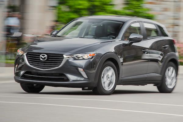 Mazda CX-3 USA August 2015. Picture courtesy caranddriver.com