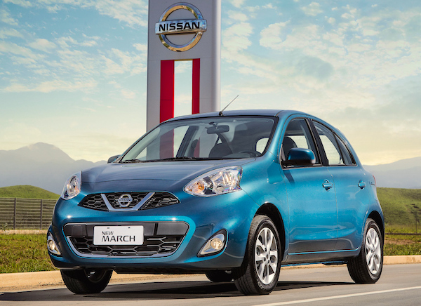 Nissan March Mexico August 2015