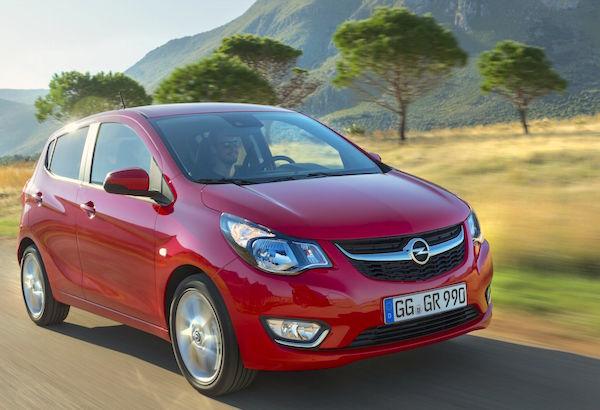 Opel Karl Italy July 2015