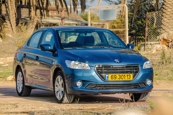 Peugeot 301 Israel August 2015. Picture courtesy gear.co.il