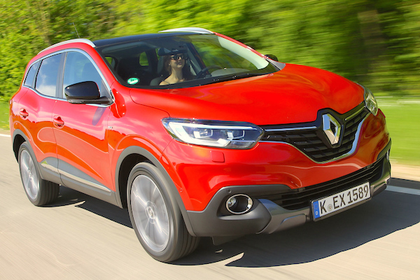 Renault Kadjar Ireland August 2015
