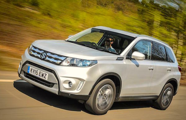 Suzuki Vitara Croatia October 2015. Picture courtesy whatcar.co.uk