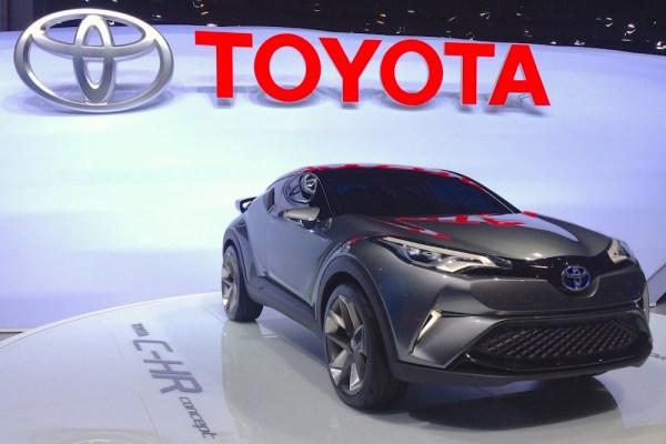 Toyota C-HR Concept Frankfurt 2015