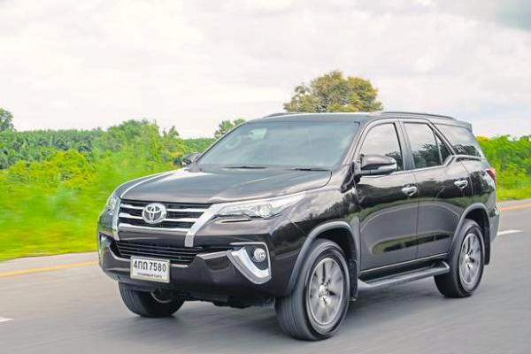 Toyota Fortuner Thailand August 2015. Picture courtesy bangkokpost.com