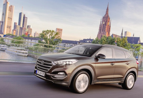 Hyundai Tucson Germany June 2016
