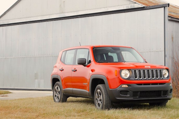 Jeep Renegade Brazil September 2015. Picture courtesy caranddriver.com