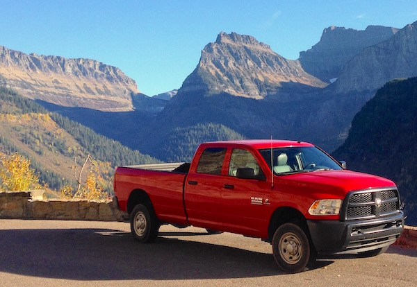 Ram 2500 Montana USA October 2015