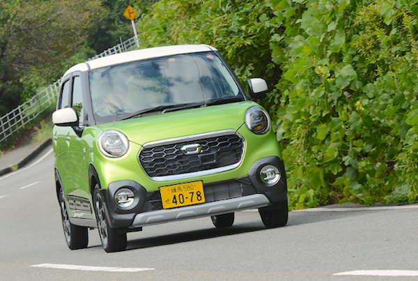 Daihatsu Cast Japan October 2015. Picture courtesy autoc-one.jp